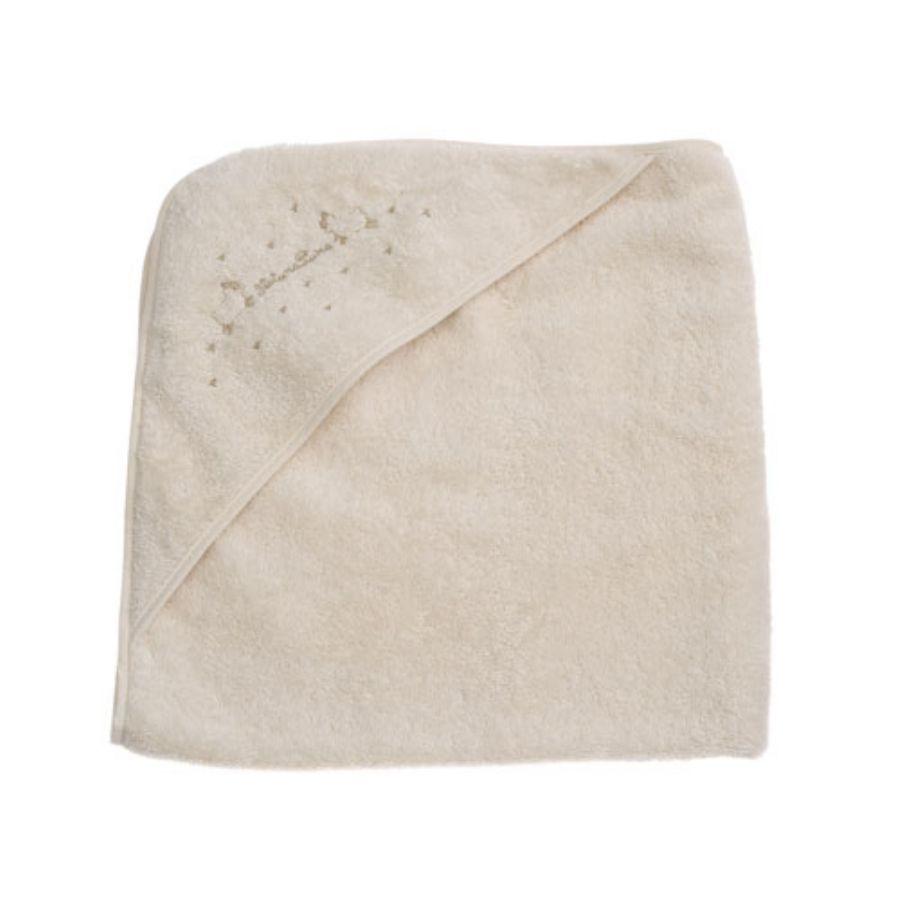 【NATURAPURA/ナチュラプラ】ひつじ刺繍フード付きバスタオルスタイル写真
