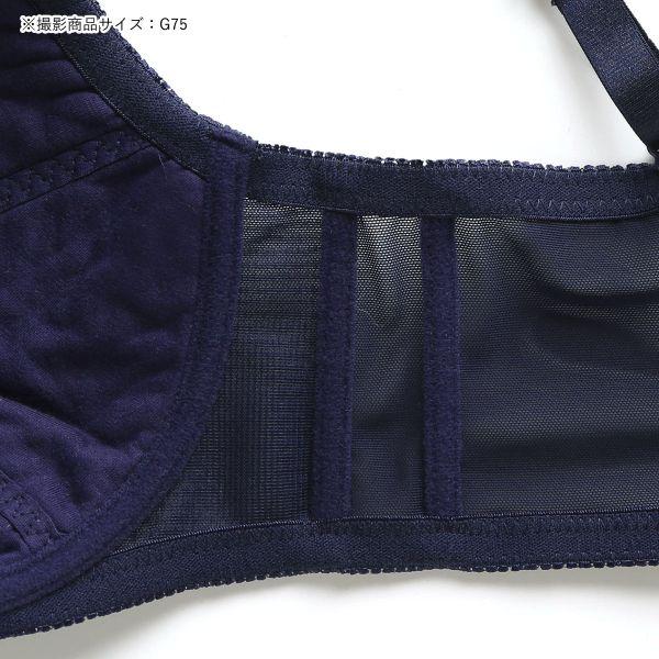 (パリシェ)Palissee 大きな胸を小さく見せる ブラ 脇高 胸元カバー ブラジャー GHその他の写真02