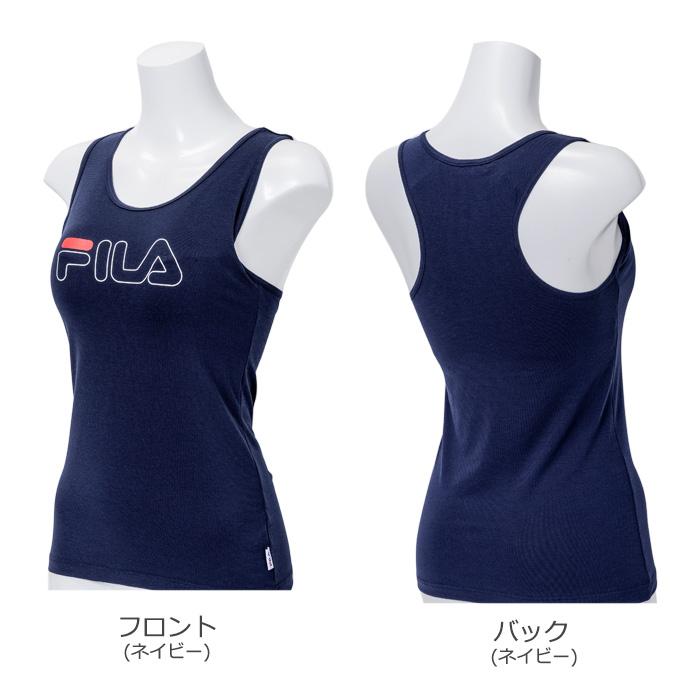 FILA カップ付き タンクトップ (M・L)カラー写真01