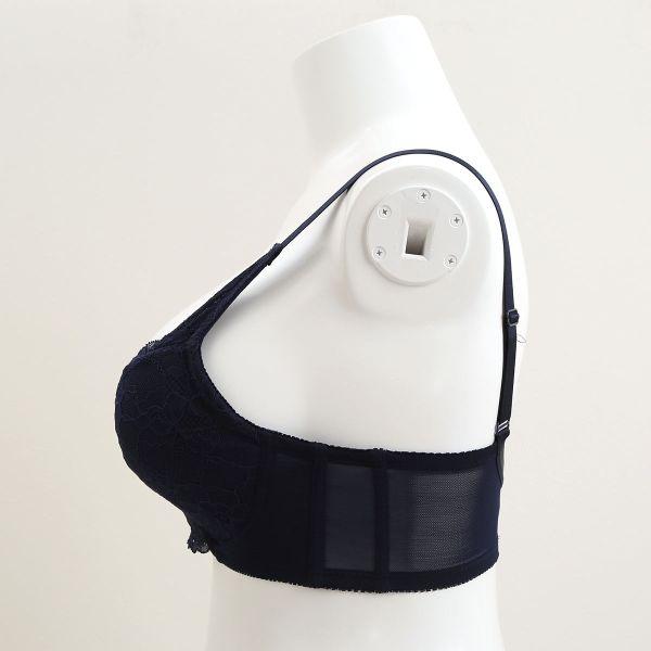 (パリシェ)Palissee 大きな胸を小さく見せる ブラ 脇高 胸元カバー ブラジャー GHカラー写真03