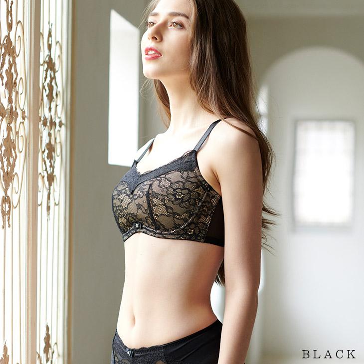 大きな胸を小さく見せるブラ プレミアムスマートブラカラー写真02