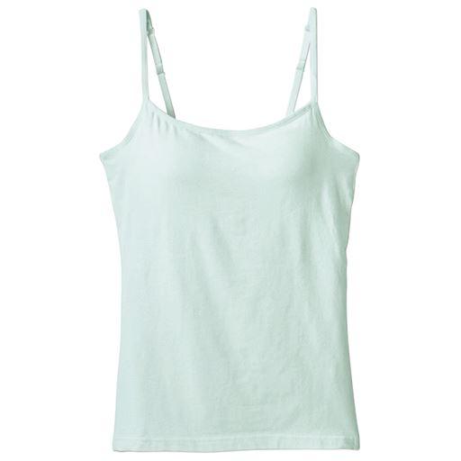 カップ付きキャミソール(立体カップで胸すっきりきれい)カラー写真01