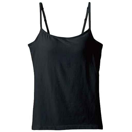 カップ付きキャミソール(立体カップで胸すっきりきれい)スタイル写真