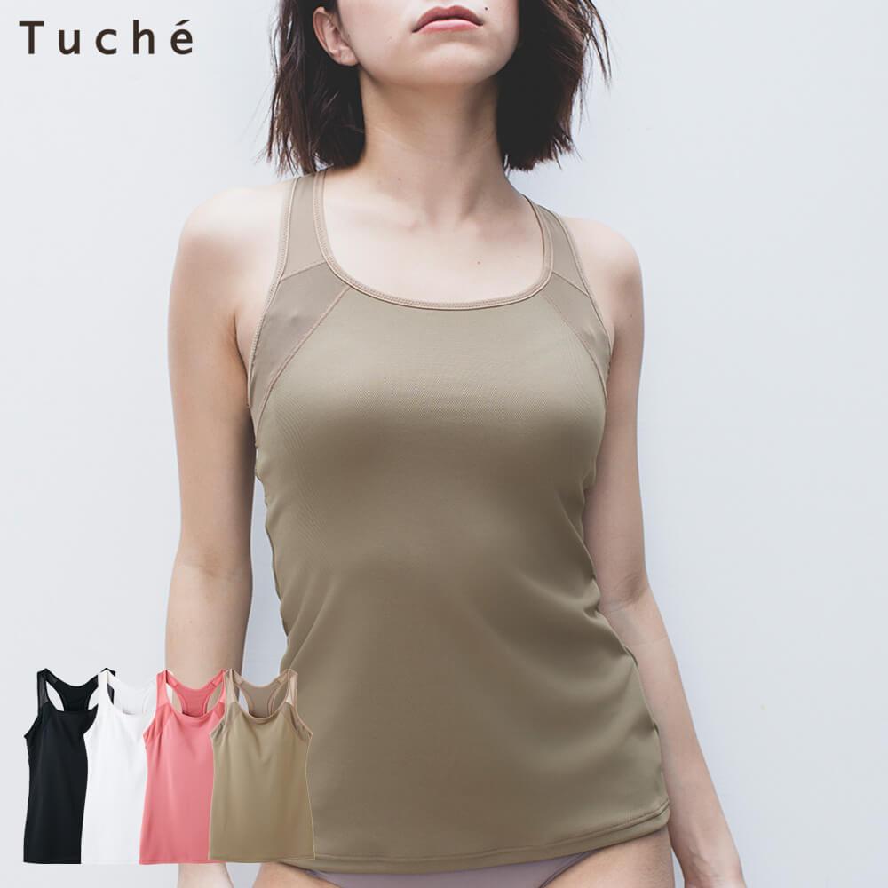 Tuche(トゥシェ)カップ付キャミソール(レディース)スタイル写真
