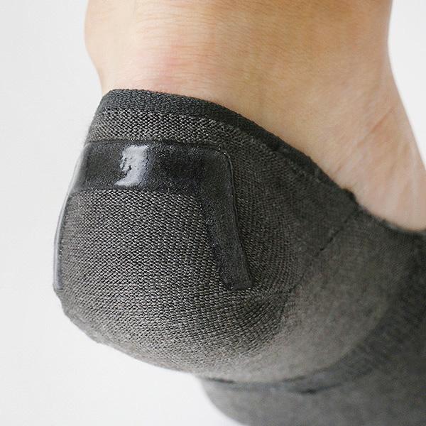 脱げないココピタ 深履き フットカバー 3足組 レディースカラー写真02