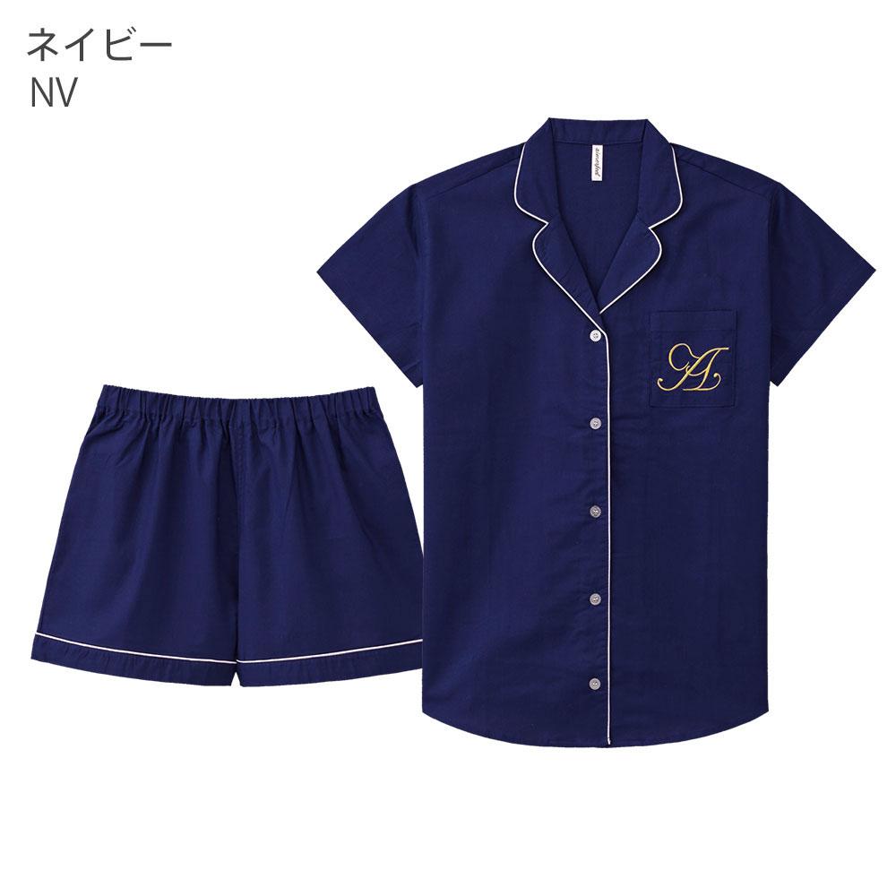 素肌に優しいコットン100%半袖シャツパジャマその他の写真02