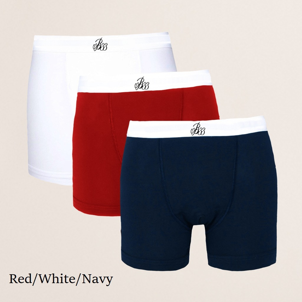 Bee Inspired B33 Boxer Shorts Triple Packカラー写真02