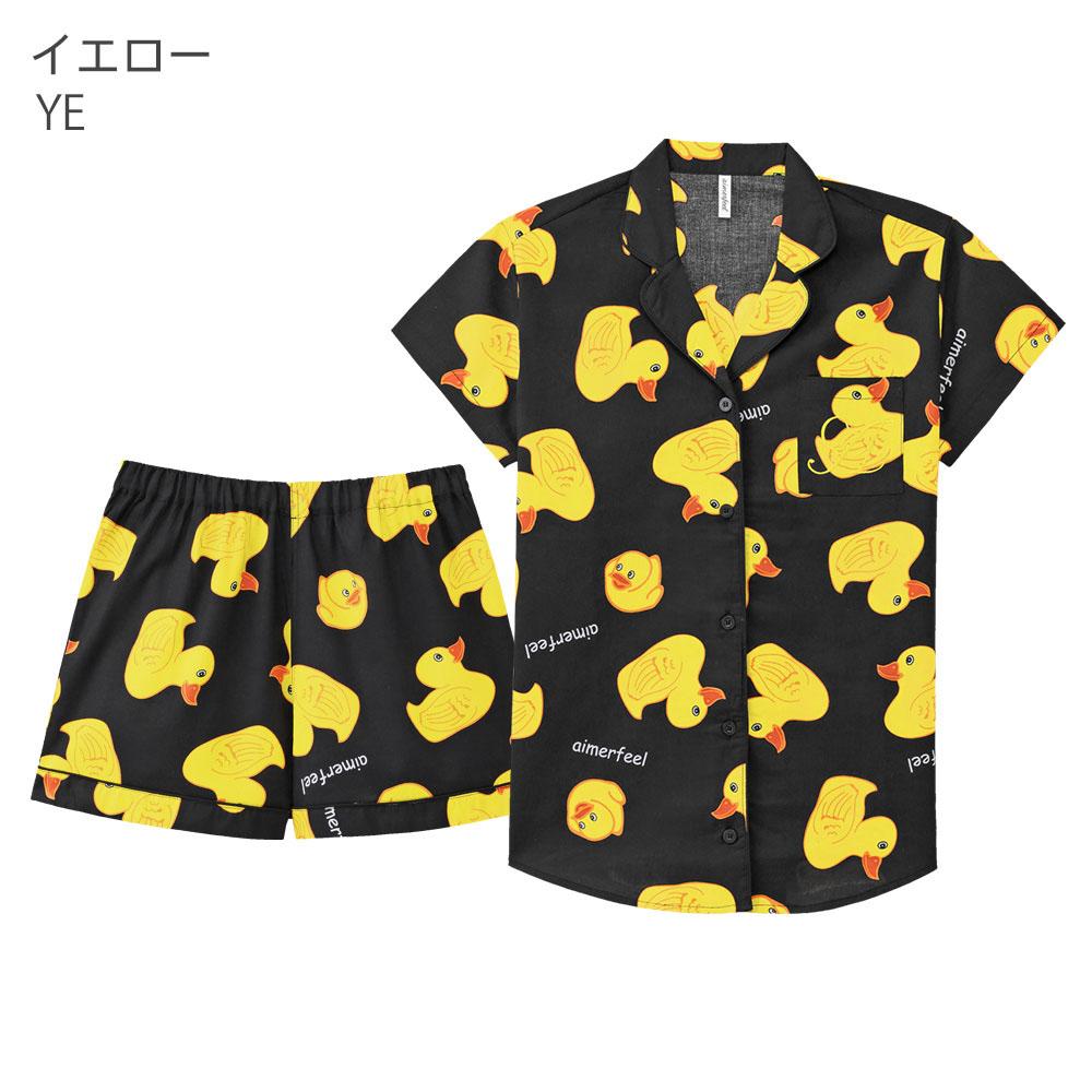 素肌に優しいコットン100%半袖シャツパジャマその他の写真01