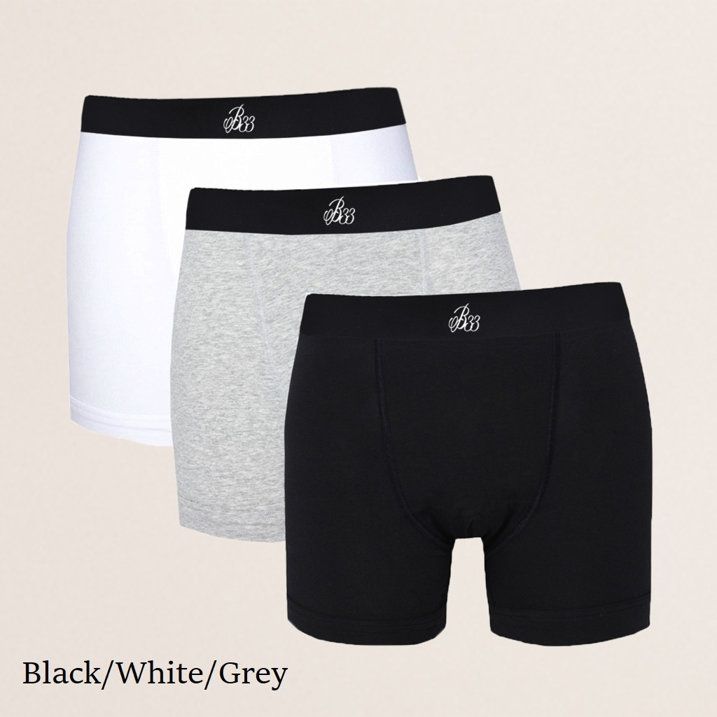 Bee Inspired B33 Boxer Shorts Triple Packカラー写真01