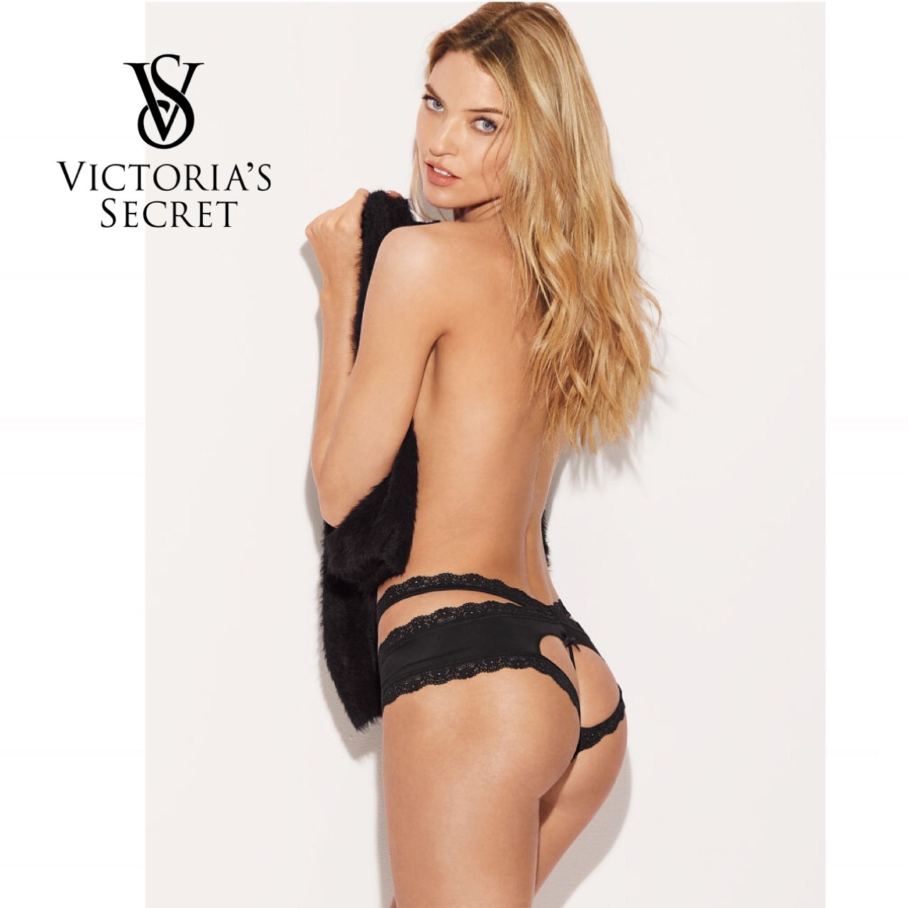 VICTORIA'S SECRET 可愛いハート ★ Cheeky Panty ★スタイル写真