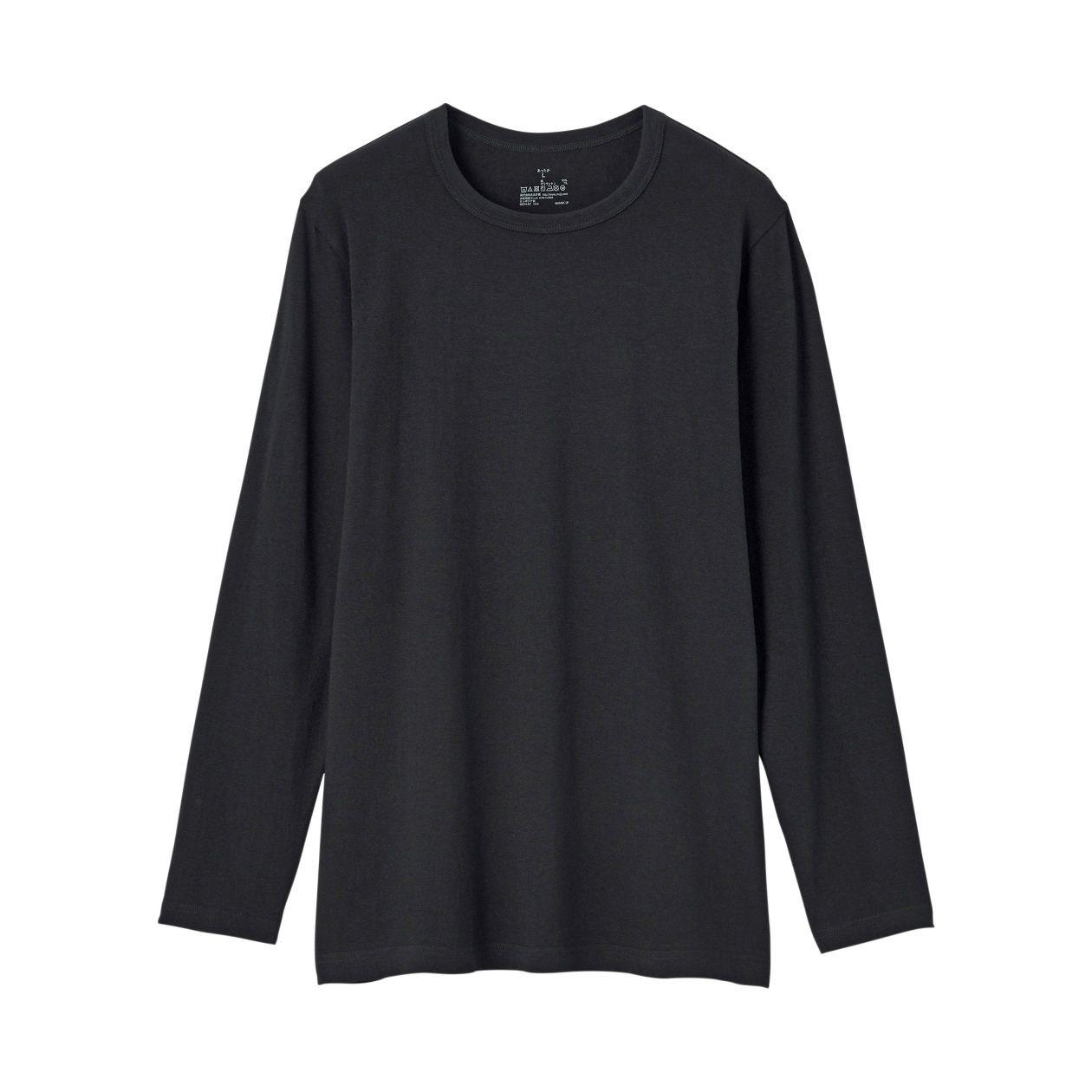 綿であったかクルーネック長袖Tシャツカラー写真03