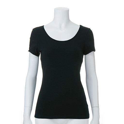 スマートヒート® 汗取り付きフレンチ袖インナー(発熱するコットン ぬく綿)カラー写真01