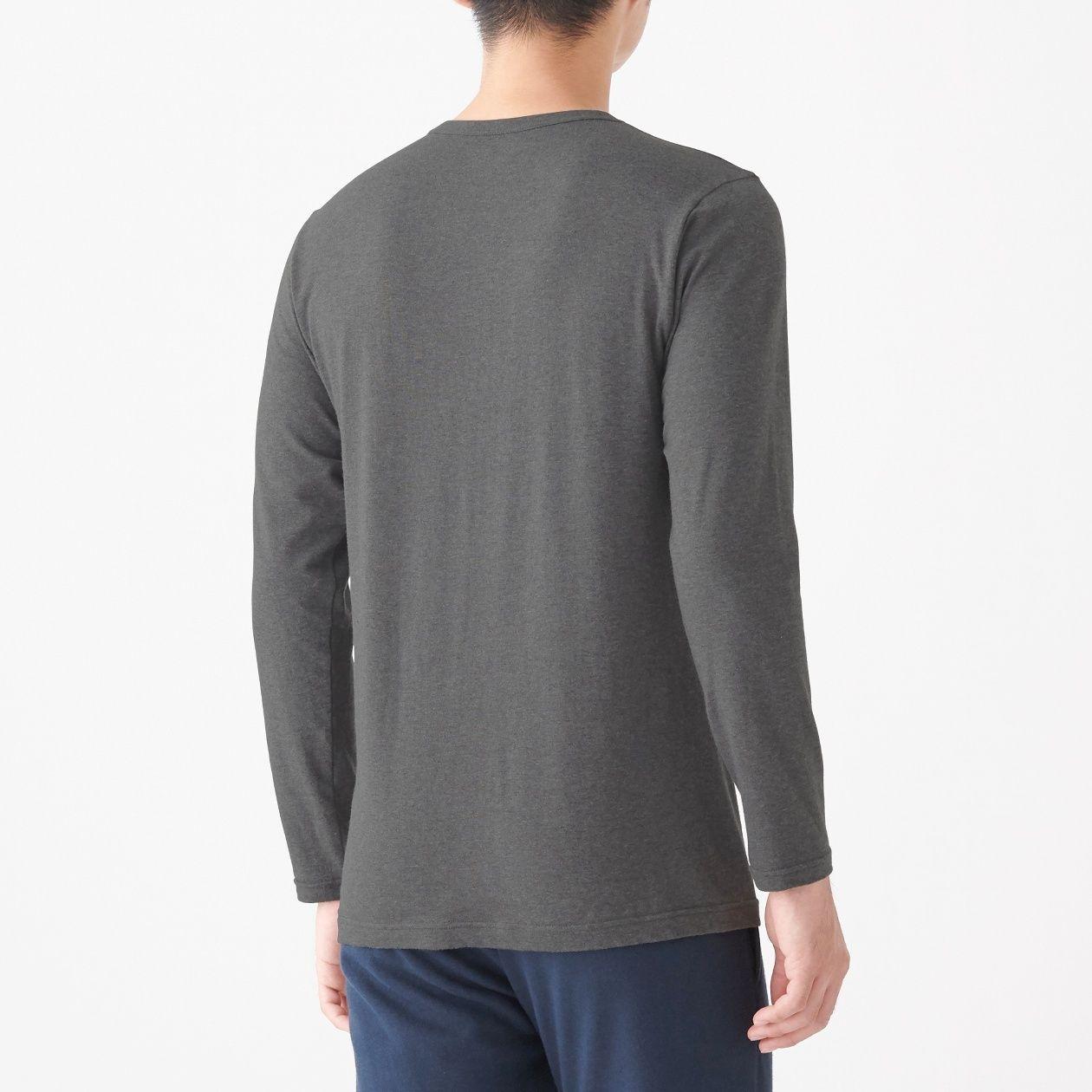綿であったかクルーネック長袖Tシャツカラー写真01