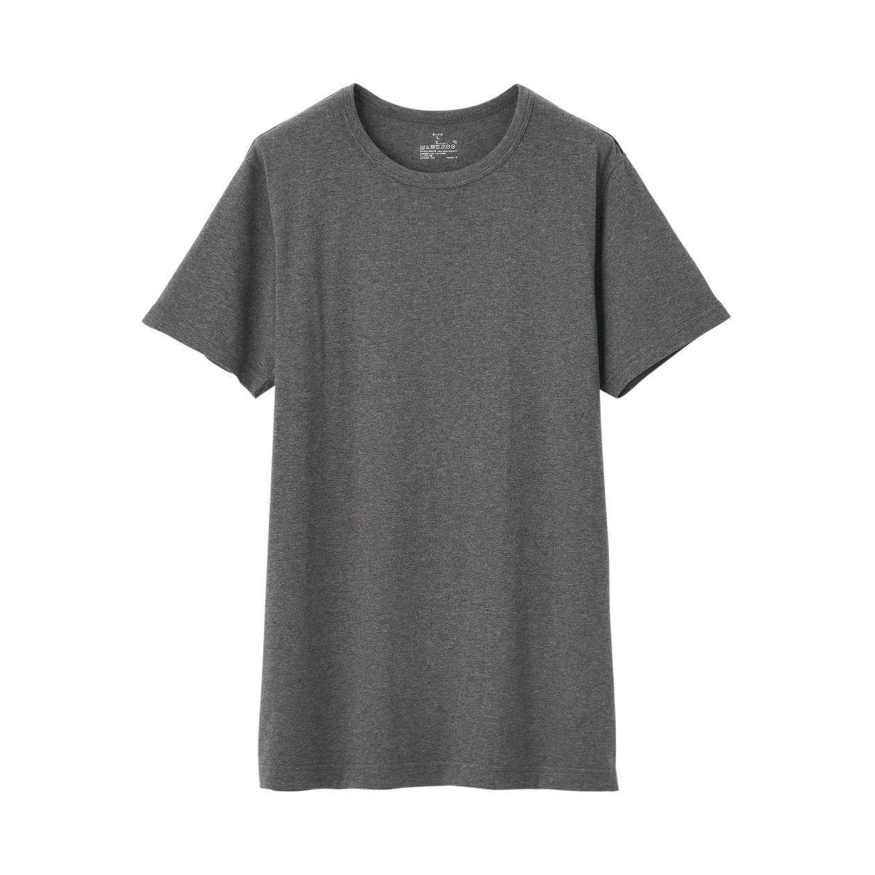 綿であったかクルーネック半袖Tシャツカラー写真02