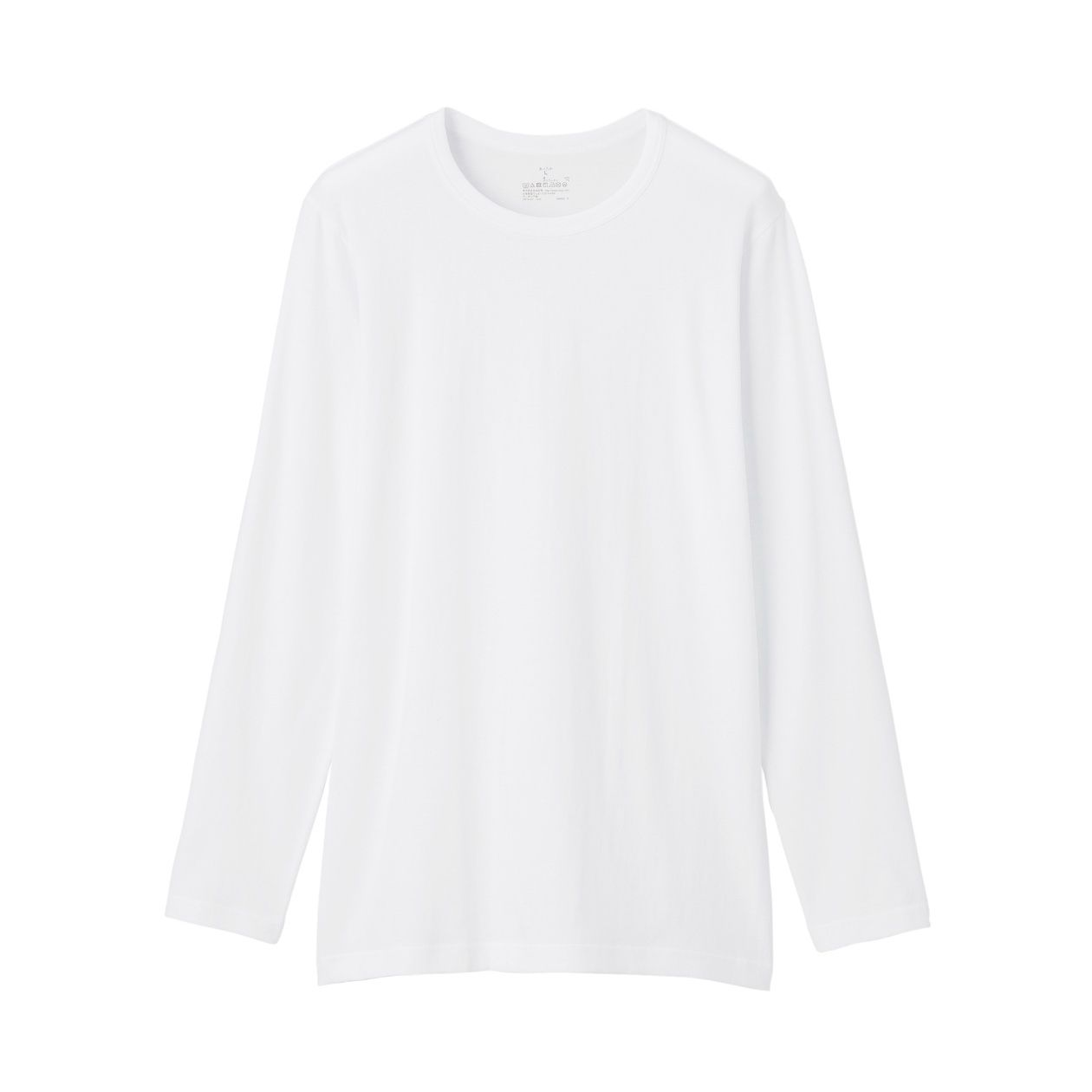 綿であったかクルーネック長袖Tシャツカラー写真02