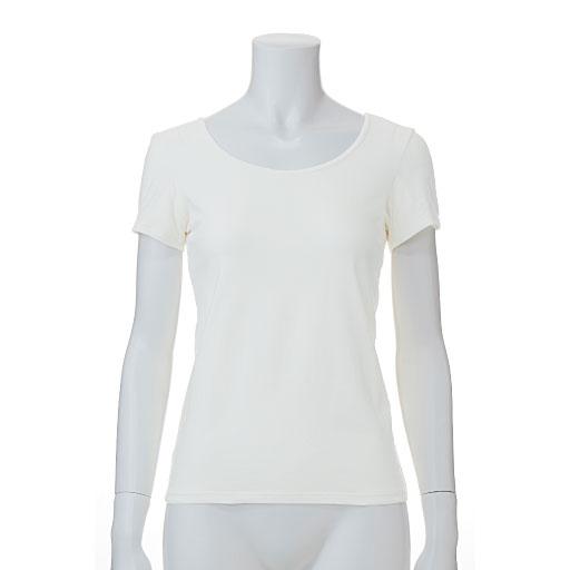 スマートヒート® 汗取り付きフレンチ袖インナー(発熱するコットン ぬく綿)カラー写真02