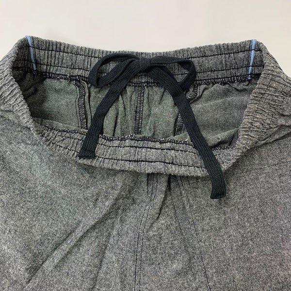 メンズ ハーフパンツ 綿100 2色 ブラック ネイビー 膝下 夏カラー写真04
