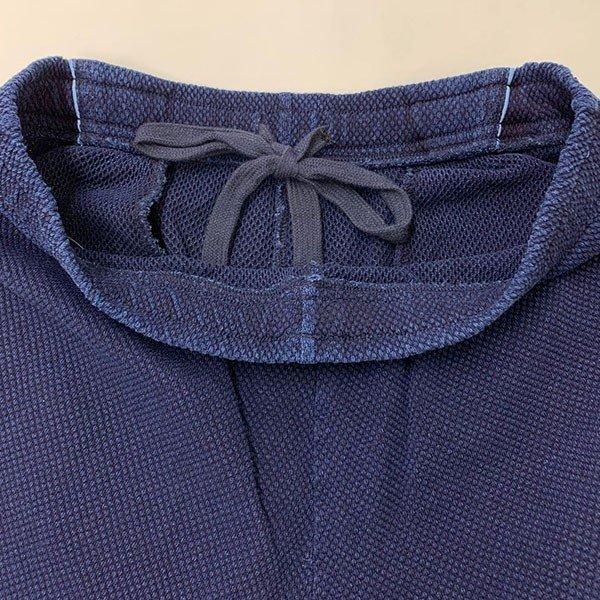 メンズ ハーフパンツ インディゴ染め 2色 ブルー ネイビー 膝下 夏 おしゃれその他の写真03
