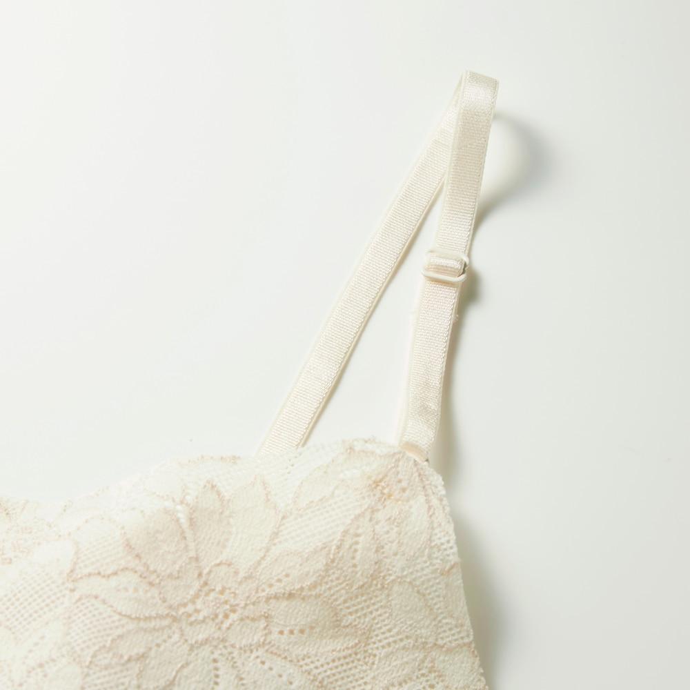 Tuche(トゥシェ) 【レーシーエア】パッド付きキャミソール(レディースカラー写真04